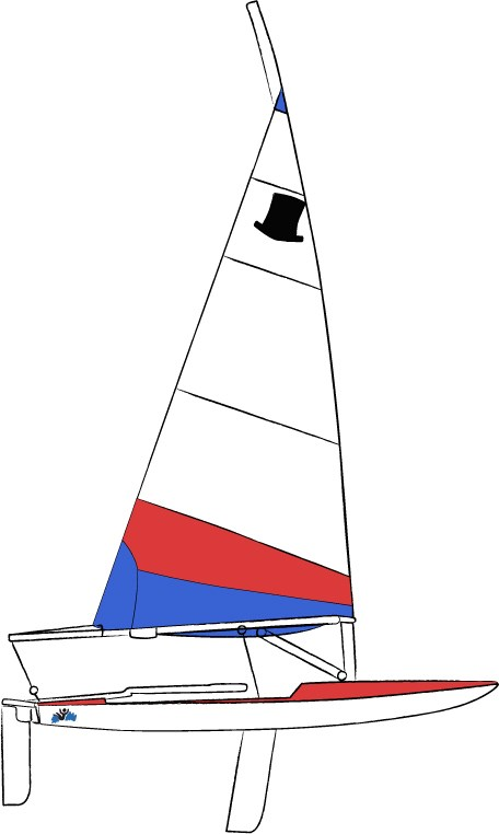 Foil reefing an unstayed mast