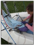 Photo 8, Pack the spinnaker into its bag