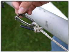 Photo 29, Attach to a shackle or the sail