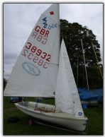 Photo 52, The 420, all rigged (minus spinnaker)