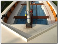 Photo 6, the foredeck and mast step