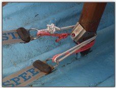 Photo 7, the mast step and toestraps