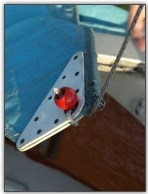 Photo 42, Attach the halyard to the main sail