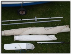 Photo 4, Sails, spars and foils