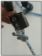 Photo 18, Rope adjuster on the trapeze handle