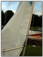 Photo 17, Hoisting the mainsail