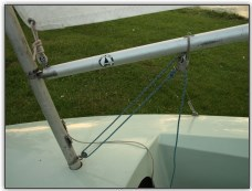 Photo 40, The complete cockpit rigging