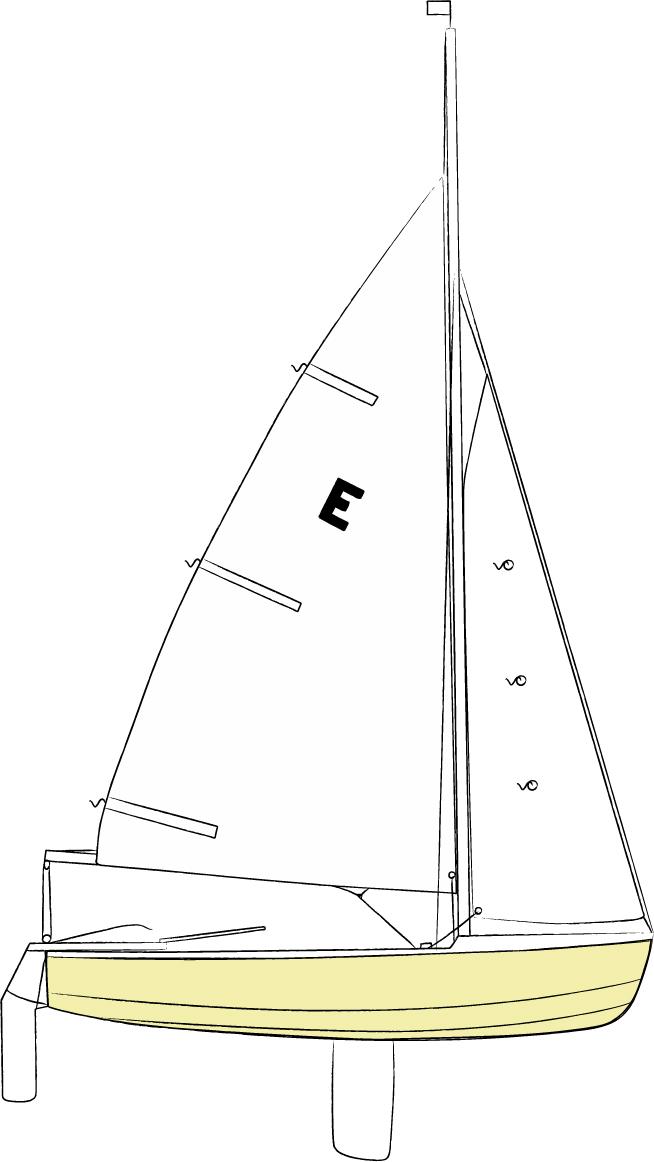 Caution Water Sailing Reefing