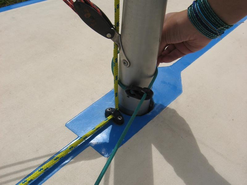 Caution Water Sailing Laser Standard Rigging Guide
